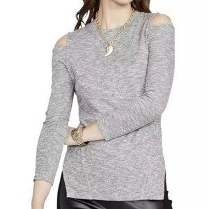 RACHEL ROY Heathered knit crewneck sweater